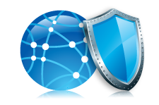 Web content filtering, antivirus protection and access control
