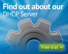 DHCP Server Free Trial